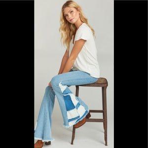 Show Me Your Mumu Woodstock denim flare jeans